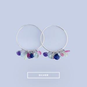 Multi-coloured Hoop Earrings