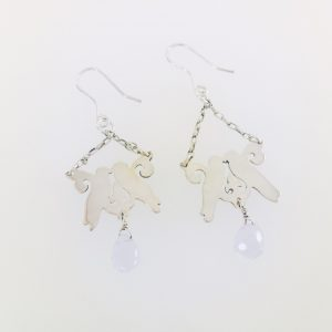Kissing Bird Earrings