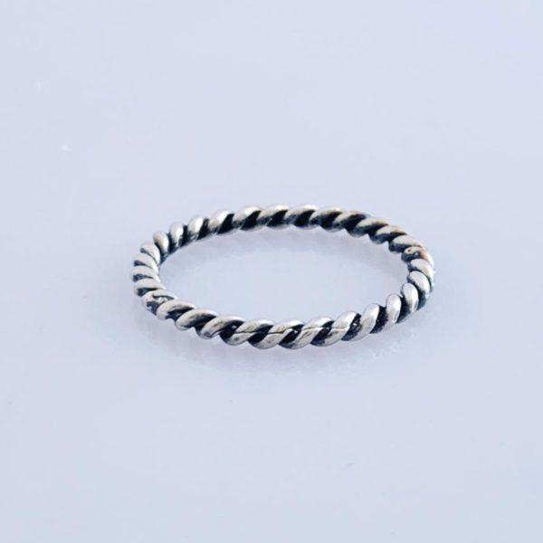 Silver Twisty Ring