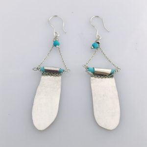 Turquiose Wrap Earrings