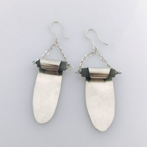 Moonstone Wrap Earrings