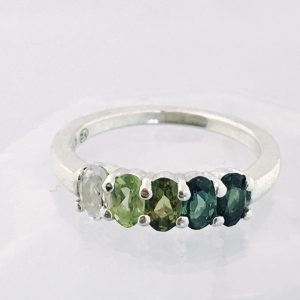 Forest Green Ombre Ring