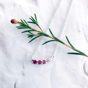 Scarlett Blush Ombre Necklace