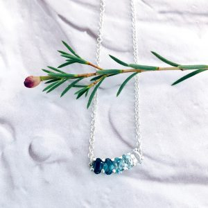 Ocean Blue Ombre Necklace