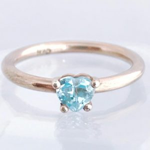 Topaz Heart Ring