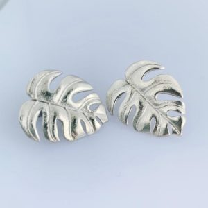 Silver Delicious Monster Studs