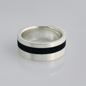 African Black Wood Ring