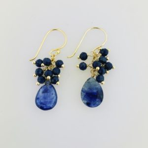 Dangle Sapphire Earrings