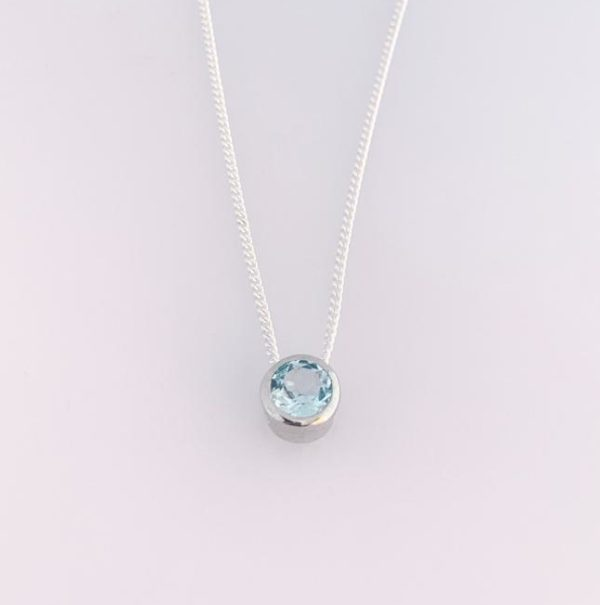 Topaz Gemstone Necklace