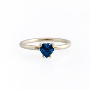 London Blue Topaz Heart Ring