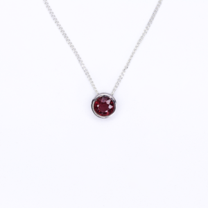 Ruby Slider Necklace